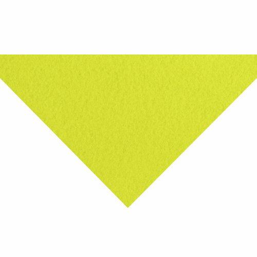 Fluorescent Yellow Acrylic Felt Sheet (23cm x 30cm)