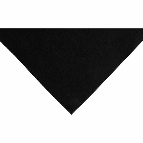 Black Acrylic Felt Sheet (23cm x 30cm)