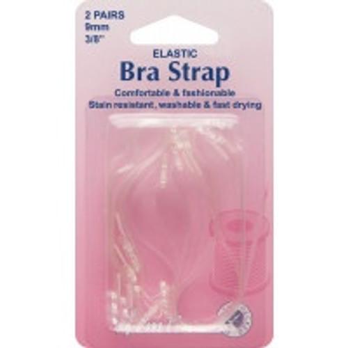 Clear Elastic Bra Straps (2 Pairs)