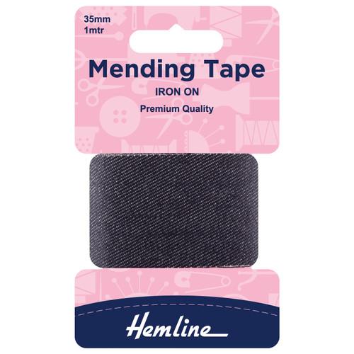 Denim 38mm Iron-On Mending Tape (1mtr)