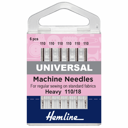 Machine Needles - Heavy, Size 110/18
