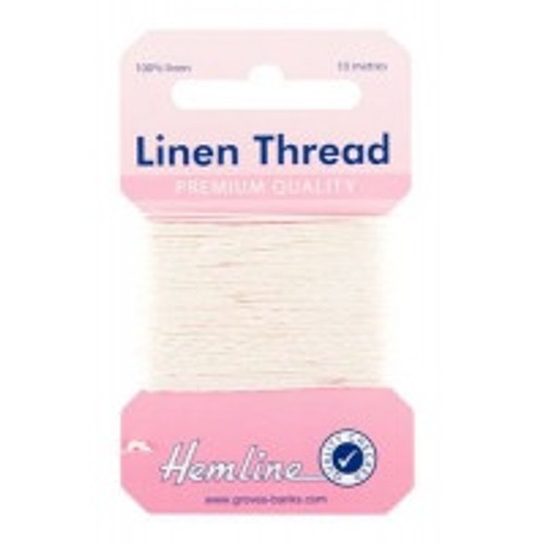 White Linen Thread (10mtr)