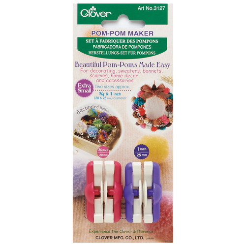Pom Pom Maker - Extra Small (20mm & 25mm)
