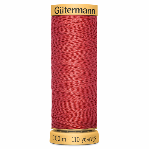 2255 Natural Cotton Sewing Thread 100mtr Spool