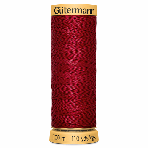 2453 Natural Cotton Sewing Thread 100mtr Spool
