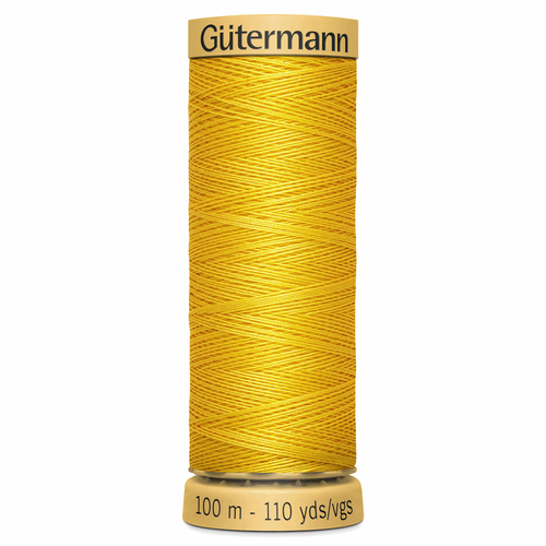 0588 Natural Cotton Sewing Thread 100mtr Spool