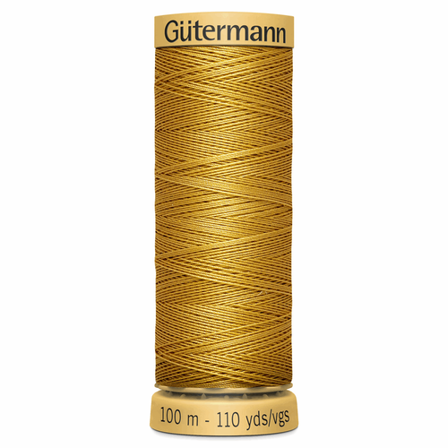 0847 Natural Cotton Sewing Thread 100mtr Spool