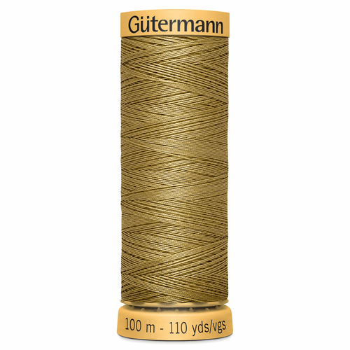 1136 Natural Cotton Sewing Thread 100mtr Spool