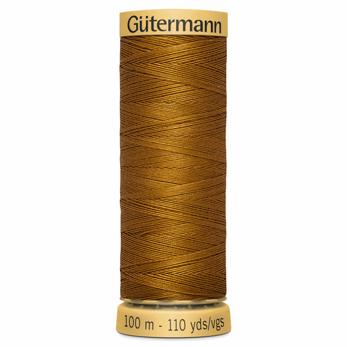 1444 Natural Cotton Sewing Thread 100mtr Spool