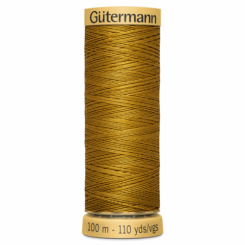 1056 Natural Cotton Sewing Thread 100mtr Spool