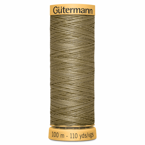1015 Natural Cotton Sewing Thread 100mtr Spool