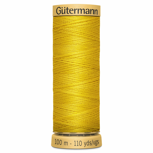 0688 Natural Cotton Sewing Thread 100mtr Spool
