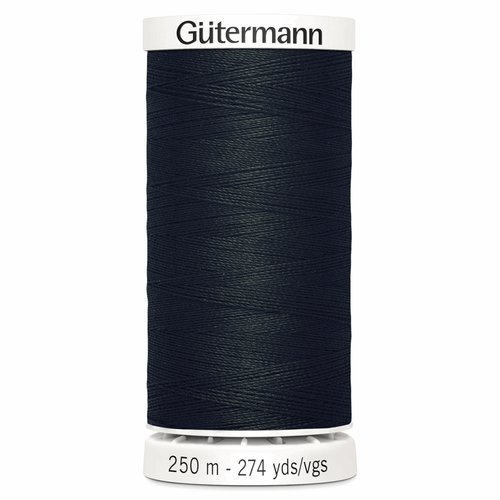 000 Black Sew-All Polyester Thread 250mtr Spool