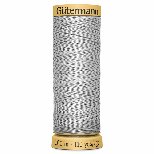 0618 Natural Cotton Sewing Thread 100mtr Spool