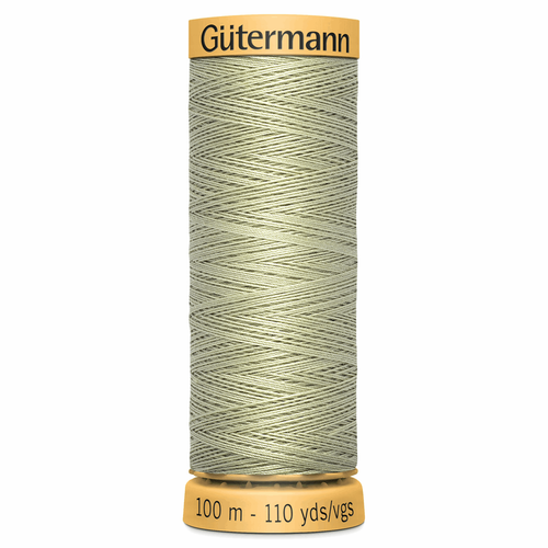 0126 Natural Cotton Sewing Thread 100mtr Spool