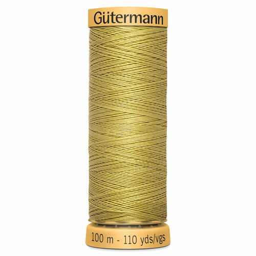 0746 Natural Cotton Sewing Thread 100mtr Spool