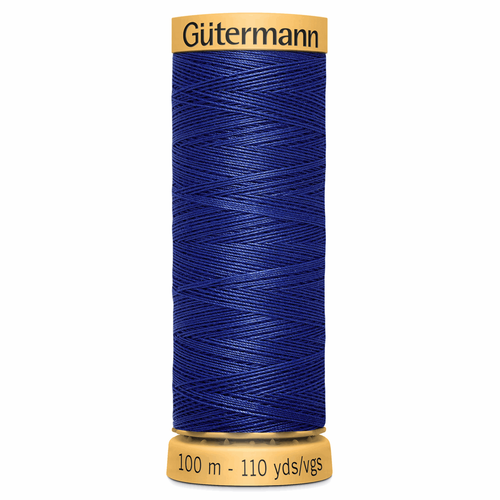 4932 Natural Cotton Sewing Thread 100mtr Spool