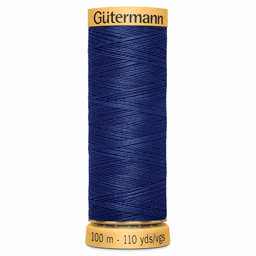 5123 Natural Cotton Sewing Thread 100mtr Spool