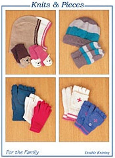KP-09 For The Family Hats & Gloves DK Knitting Pattern