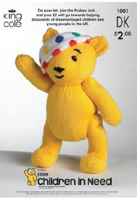 1001 Toy Teddy Bear DK Knitting Pattern