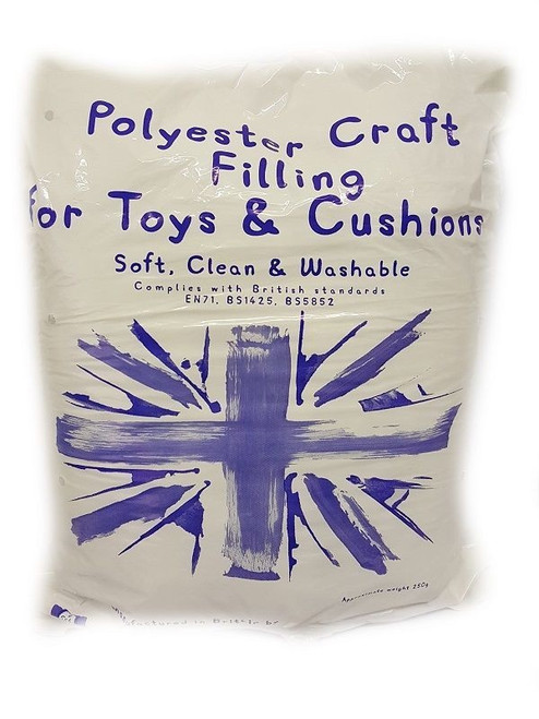 Polyester Toy Stuffing - Small (250g)