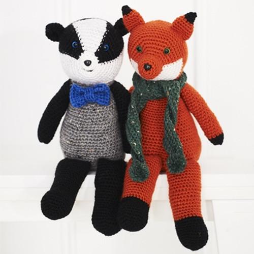 9665 Woodland Toys Special DK Crochet Pattern