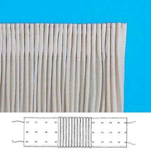 """3"""" Rufflette Curtain Tape (Sold Per Metre)"""