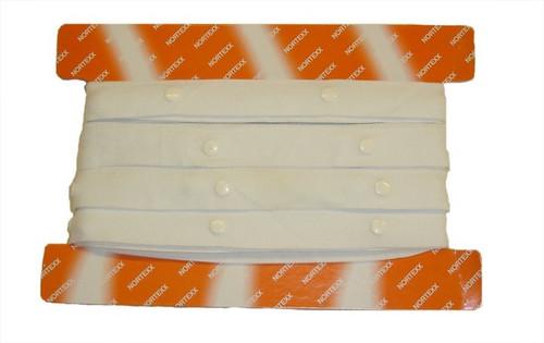 Duvet Snap Fastener Tape (Sold Per Metre)