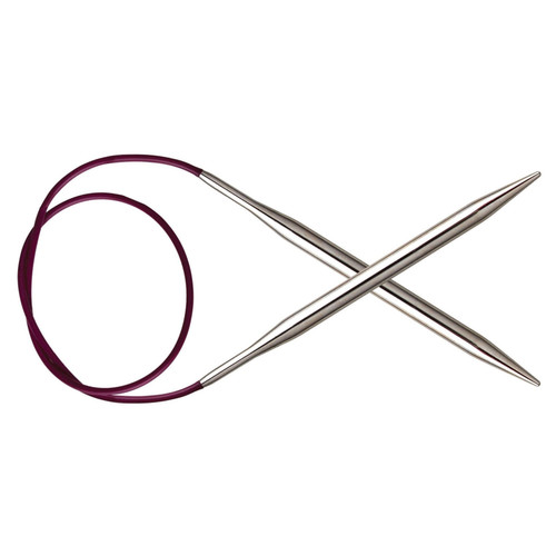 6.50mm 'Nova' Circular Knitting Needle, 80cm length