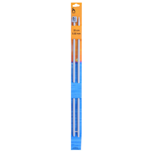 "5.50mm (UK5) Classic Knitting Pins, 35cm/14"" length"