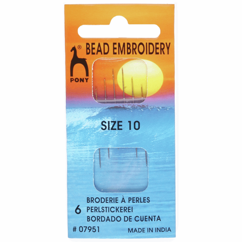 Hand Sewing Needles - Bead Embroidery - Size 10
