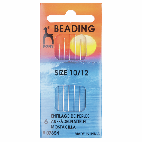 Hand Sewing Needles - Beading - Assorted Sizes 10-12