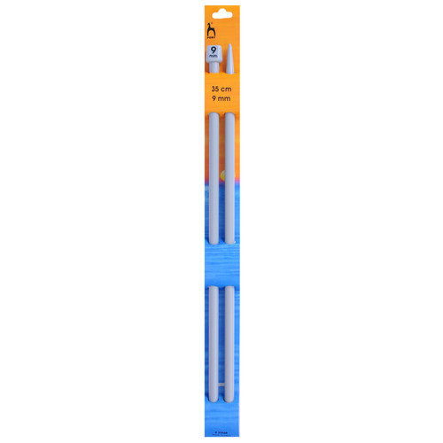"9.00mm (UK00) Classic Knitting Pins, 35cm/14"" length"