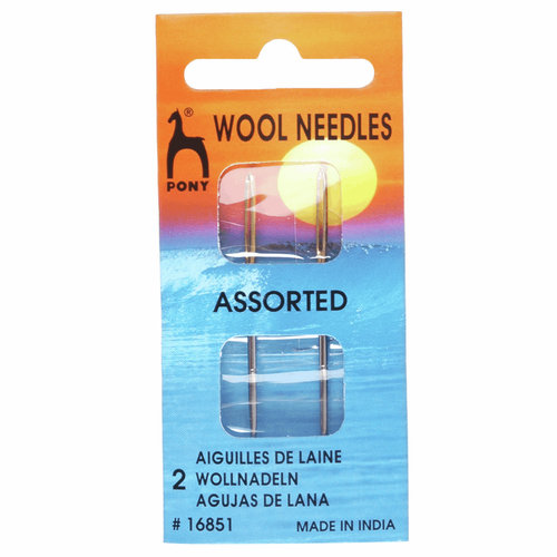 Hand Sewing Needles - Wool - 2 Sizes