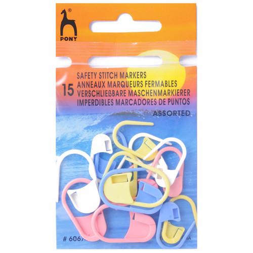 Safety Stitch Markers (15pc)
