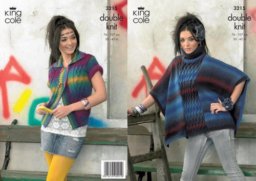 3215 Ladies & Teens Cardigan & Bolero Riot DK Knitting Pattern Size: 30-42""
