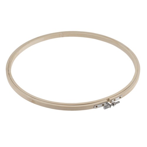 "10"" Bamboo Embroidery Hoop (25.4cm diameter)"
