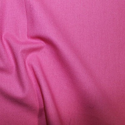 Bright Pink 100% Cotton Fabric, 112cm/44in wide, Sold Per HALF Metre