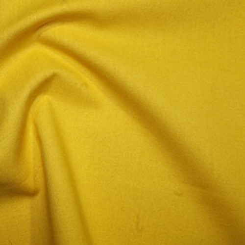 Corn Yellow 100% Cotton Fabric, 112cm/44in wide, Sold Per HALF Metre