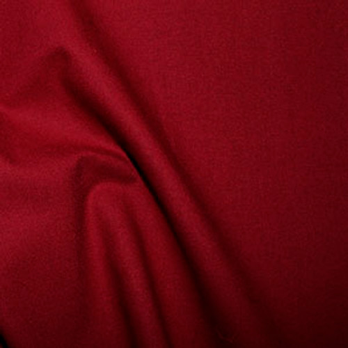 Crimson 100% Cotton Fabric, 112cm/44in wide, Sold Per HALF Metre