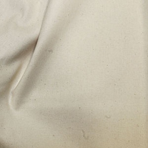 """Natural Seeded 100% Cotton Fabric, 112cm/44"""" wide, Sold Per HALF Metre"""