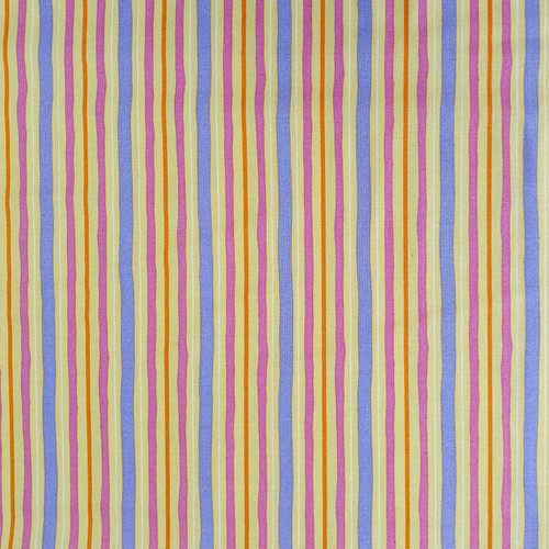 "House Mouse ""Kitchen Helpers"" Multicolour Stripe Cotton Fabric, 112cm/44in wide, Sold Per HALF Metre"