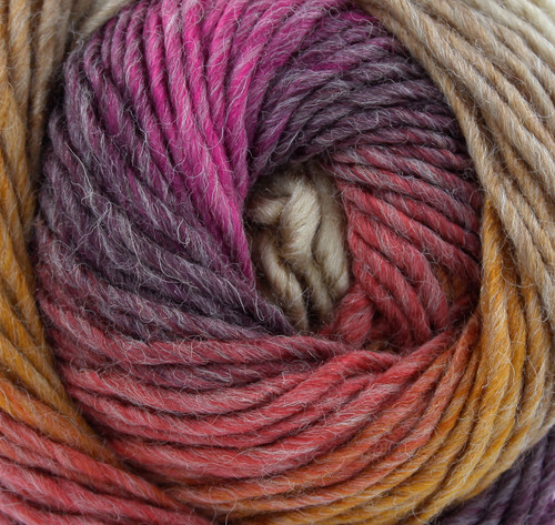 Turkish Delight Riot Chunky with 30% Wool (100g)