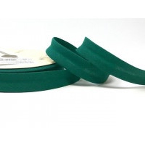 Forest Polycotton Bias Binding, 18mm wide, Sold Per Metre