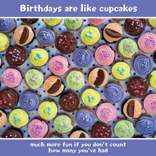 Birthdays Are Like Cupcakes… Birthday Card