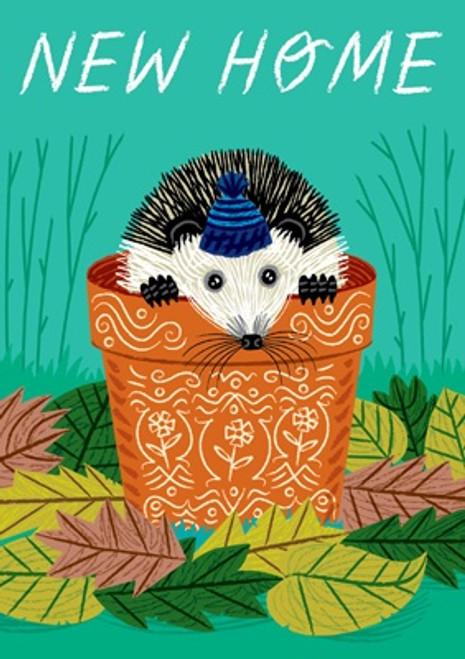 Hedgehog New Home Card