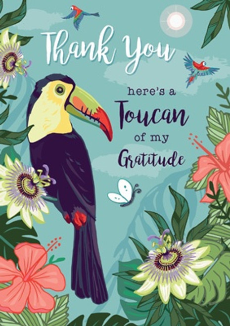 A Toucan of my Gratitude Thank You Card