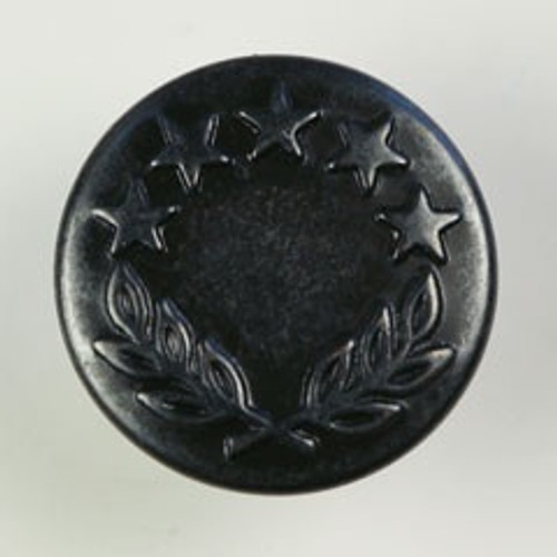 Black Rivet-Style 16mm (5/8in) Jeans Buttons