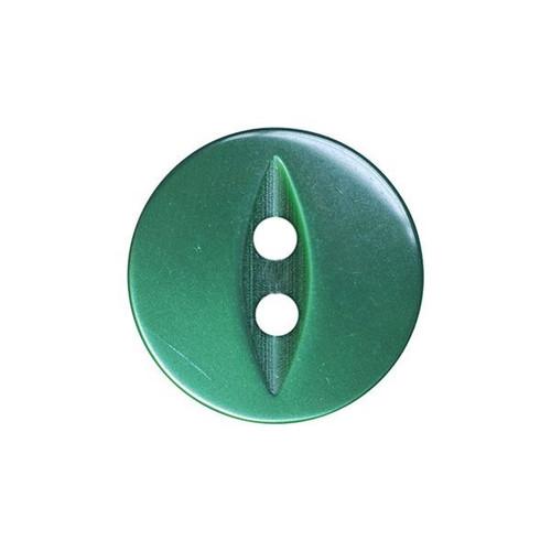 Bottle Green Fisheye Baby Buttons