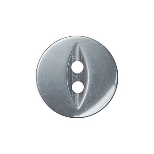 Grey Fisheye Baby Buttons